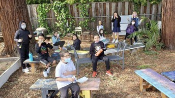 """The Garden is a """"Zone"""" at Recess time"""