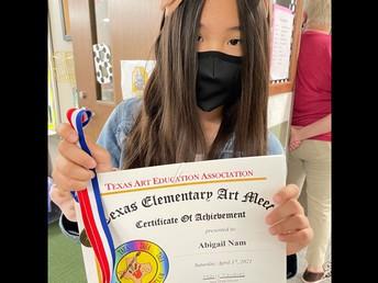 Abigail Nam 4th Grade