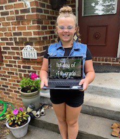 First Day Of School -Virtual Students