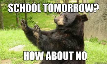 REMINDER:  SCHOOL CLOSEd