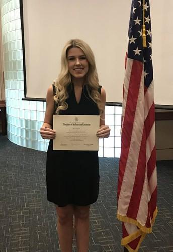 Spring Hill Senior Receives Citizenship Award