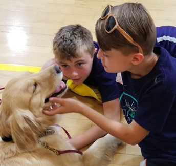 Therapy Dog Visits to WHS