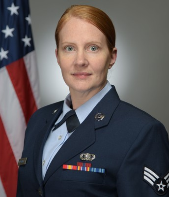 Senior Airman Claire Workinger