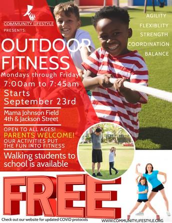 Outdoor Fitness Hour