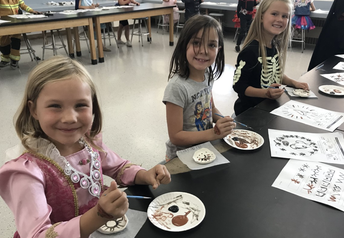 1st Grade Pottery