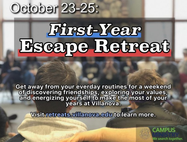 Escape Retreat Flyer