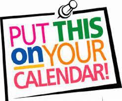 Important Dates for October/November