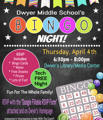 Screen-Free Family Bingo Night