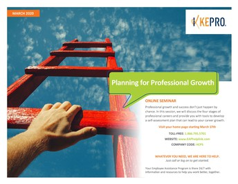 KEPRO Employee Assistance Program: Planning for Professional Growth