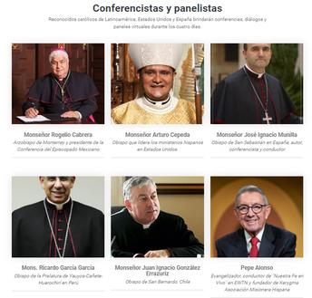 Presentadores: Obispos y personalidades