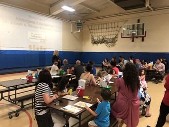 Kindergarten Orientation for Families at Whelan