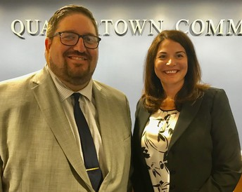 Additions of Jennifer Carolla and Adam Dinney complete high school's administrative team