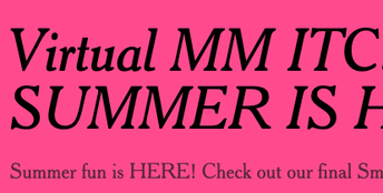 You know what goes good with this MM Smore Newsletter? Another Smore Newsletter!