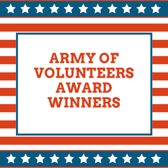 Army of Volunteers Award Winners