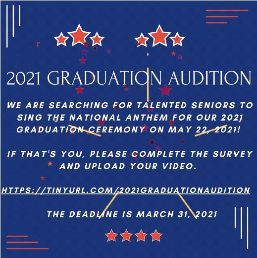Graduation Audition Information