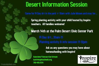 Desert Info Session!