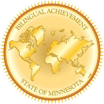 Bilingual Gold Seal
