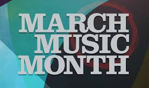 March is music appreciation month