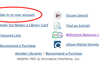 1. Sign in to your account