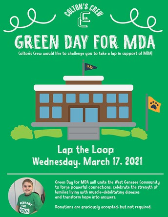 Green Day for MDA at West Genesee!