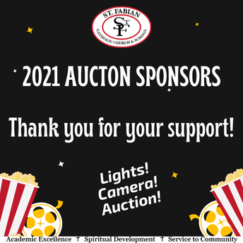 A big THANK YOU to our auction sponsors!!