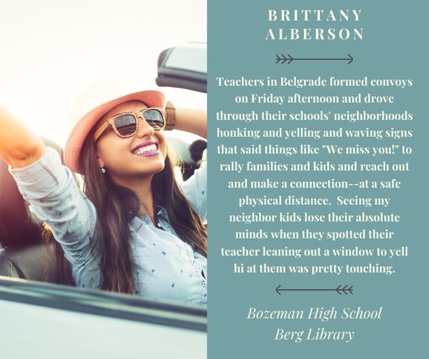 Brittany Alberson Quote - Convoy Hellos!