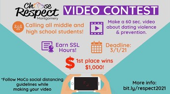 Choose Respect Video PSA Contest Accepting Entries: