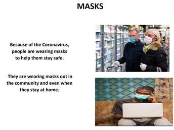 Wearing a Mask