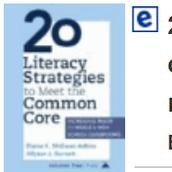 Professional e-books are available for teacher use