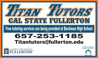 Beckman Math and Science Tutoring