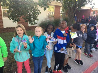 K-5 Special Olympics Send Off