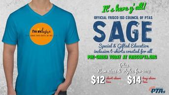 SAGE T-shirts!