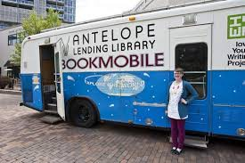 More books on wheels! Antelope Lending Library Bookmobile