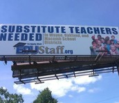 Substitute Teacher Shortage