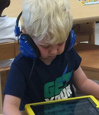 Pre-K iPad Worktime