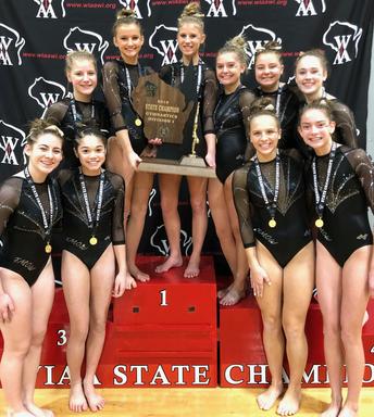 Gymnastics State Winners