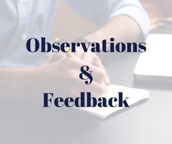 Observations & Mid-semester Feedback