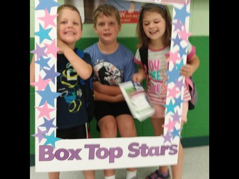 The whole gang got involved in saving Box Tops!