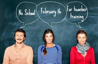 No School February 16