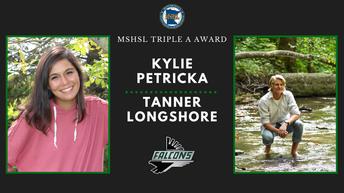 Longshore and Petricka Named FHS' Triple A Award Winners