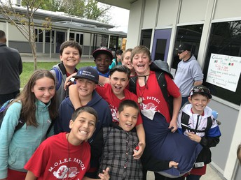 6th Graders go to Camp (Outdoor Ed)