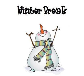 Winter Break   Vacciones De Invierno (12/23):