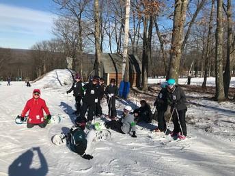 Fun with the Ski Club