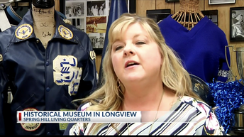 KETK Interviews Annette Wolverton, SHISD Employee and President of the SH Alumni Association