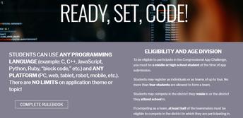 Challenge alert: Congressional Coding Challenge (See below)