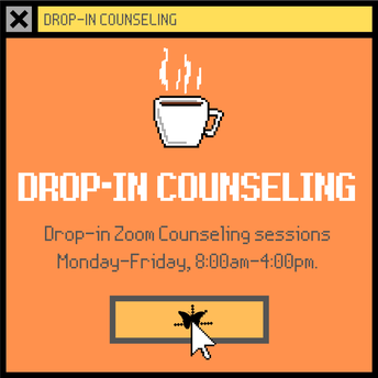 Drop-in Zoom Counseling Sessions