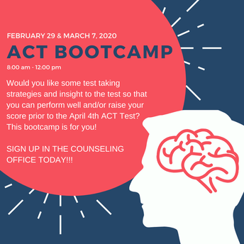 ACT Bootcamp - Feb 29 & March 7