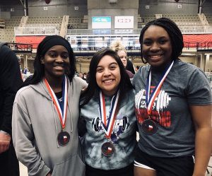 Lady Leopards Medal at State Powerlifting Meet