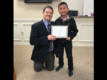 Camden Nguyen - Student of the Month