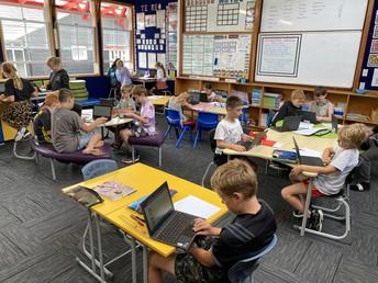 Digital classroom in the senior school